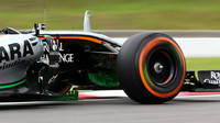 Flow-vis na voze Force India VJM08 - Mercedes v Suzuce