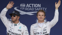 Lewis Hamilton a Nico Rosberg vyhráli kvalifikaci, GP Japonska (Suzuka)