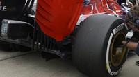 Difuzor vozu Toro Rosso STR10 - Renault, GP Japonska (Suzuka)