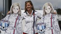 Susie Wolffová, GP Japonska (Suzuka)