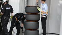 Kontrola pneumatik v Suzuce