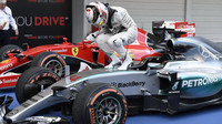Lewis Hamilton, vítěz VC v Suzuce