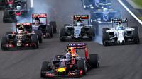 Daniel Ricciardo a jeho start v Suzuce