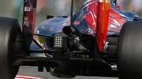 Zadní část vozu Toro Rosso STR10 - Renault v Suzuce