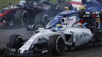 Felipe Massa při startu v Suzuce