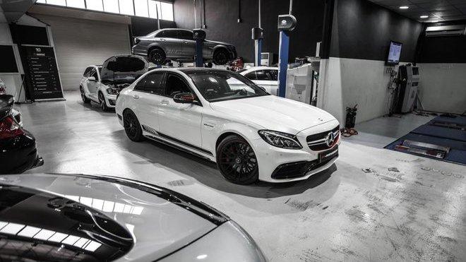 Mercedes-AMG C63 S po úpravě od PP-Performance