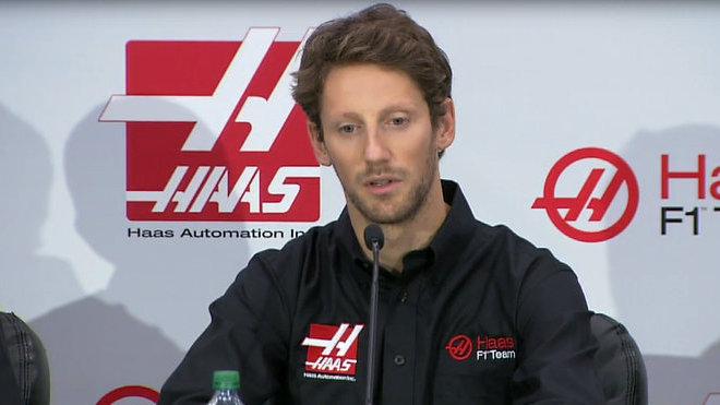 Romain Grosjean již v spolupracuje s Haasem