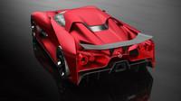 Nový Nissan GT-R bude strojem pekelným, to se dá říci už nyní. Jestli ale bude vypadat jako koncept Vision Gran Turismo, stvořený pro stejnojmennou závodní hru, je ve hvězdách. Ono herní auto každopádně pro Tokio dostalo červený lak Fire Knight a nebezpečně mu to sekne!