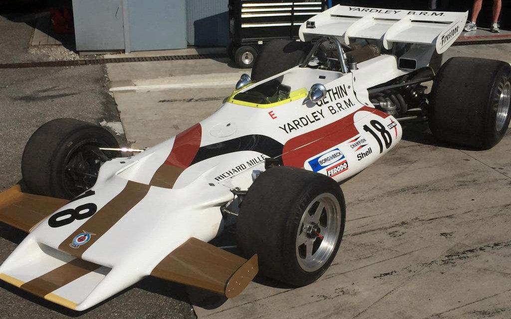 BRM toho prožilo v F1 dost. Na snímku typ P160