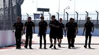 Romain Grosjean se seznamuje s tratí v Soči