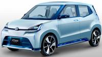 D-base je reálně vyhlížející koncept nové generace kei cars od Daihatsu. K jeho pohonu slouží, jak jinak, 0.66litrový tříválec. Spotřeba je díky regenerativnímu brzdění, bezestupňovému automatu i nízké hmotnosti jen 3 l/100 km.