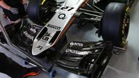Přední křídlo vozu Force India VJM08 - Mercedes v Soči