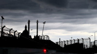 Nad tratí v Soči se zatahuje