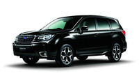 Černá je elegantní klasika, omlazené Subaru Forester.