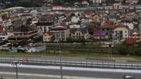 Okolí trati v Soči