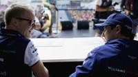 Valtteri Bottas a Felipe Massa v Soči
