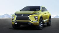 """Aktuální žebříčky prodejů opět patří crossoverům, takže se není co divit, že Mitusbishi už připravuje nástupce SUV ASX. Jeho předobrazem je žlutý koncept eX s přední částí ve tvaru dynamického štítu, proti sobě se otevírajícími dveřmi, elektrickým pohonem a autonomním řízením. Pravděpodobně se též díváme na nový """"Lancer Evo."""""""
