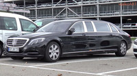 Mercedes-Maybach S600 Pullman byl spatřen v Německu - anotační foto