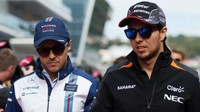 Felipe Massa a Sergio Pérez v Soči