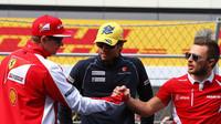 Kimi Räikkönen, Felipe Nasr a Will Stevens v Soči