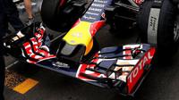 Přední křídlo vozu Red Bull | Red Bull RB11 - Renault v Soči