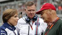 Claire Williamsová a Niki Lauda v Soči