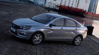 Novinka stojí na platformě Lada B/C s prvky od Renaultu, Lada Vesta.