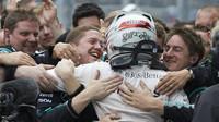 Lewis Hamilton v Soči