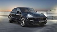 Porsche Macan S Diesel v nové úpravě od Hamann - anotační foto