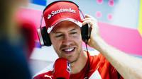 Přes problémy s počasím srší Vettel v Austinu dobrou náladou