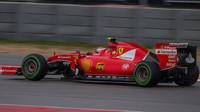 Kimi Räikkönen v Austinu