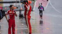 Mechanici Ferrari v Austinu