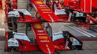 Přední křídla vozu Ferrari SF15-T v Austinu