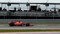 Sebastian Vettel v Austinu