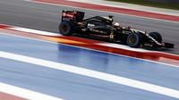 Romain Grosjean v Austinu