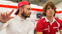 Will Stevens a Roberto Merhi v Austinu