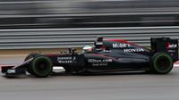 Fernando Alonso v Austinu