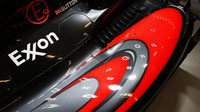 Kokpit vozu McLaren MP4-30 Honda v Austinu