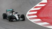 Lewis Hamilton v Austinu