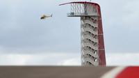 Vrtulník v Austinu