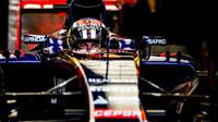 Max Verstappen čeká na výjezd z boxů v Austinu
