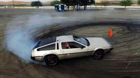 Tady se studenti skutečně vytáhli, DeLorean DMC-12 - MARTY.