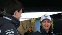 Nico Rosberg a Toto Wolff v Austinu