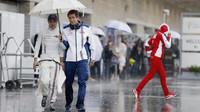Felipe Massa za deště v Austinu