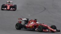 Sebastian Vettel a Kimi v Austinu