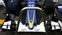 Přední křídlo vozu Sauber C34 - Ferrari v Austinu
