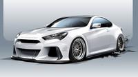 Hyundai Genesis Coupe po úpravách americké společnosti Ark Performance slibuje výkon vyšší než 500 koní.