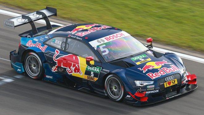 Mattias Ekström byl zatím nejrychlejší v obou dnech testů