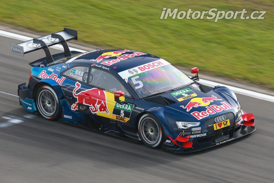 Švéd v Audi RS5 DTM opět patřil k nejrychlejším jezdcům v poli