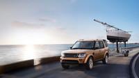 Za auto lze zapřáhnout i loď, Land Rover Discovery Landmark.